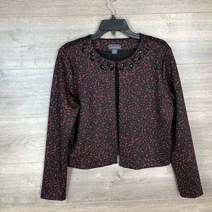 3/$25🛍️ Covington Cropped Animal Print Jacket